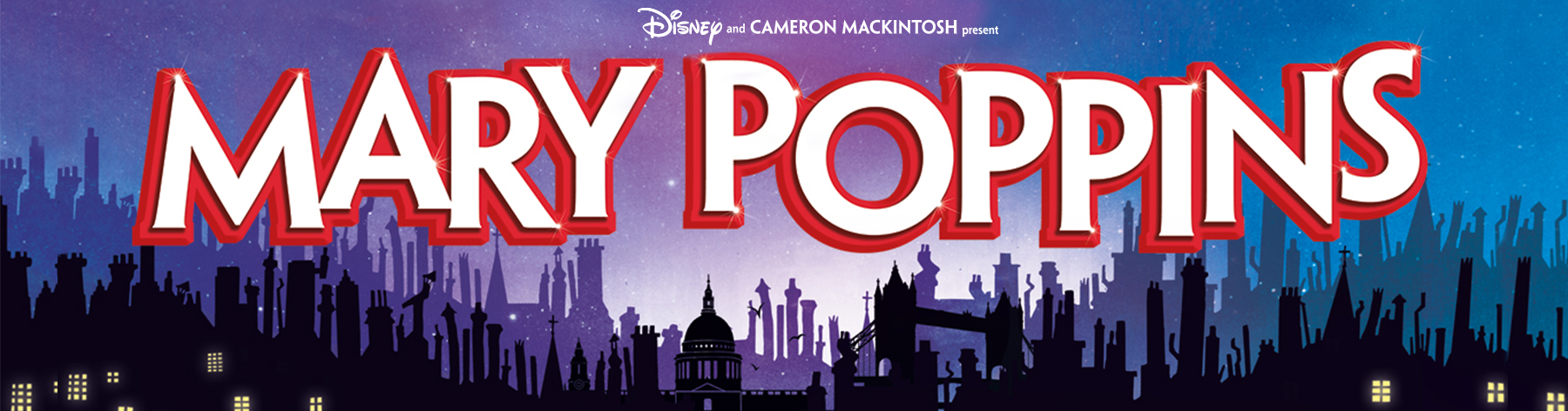 Mary Poppins Tickets Banner