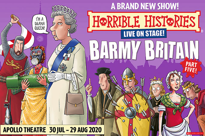 Horrible Histories - Barmy Britain - Part 5 Header Image