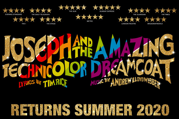 Joseph and the Amazing Technicolor Dreamcoat Header Image