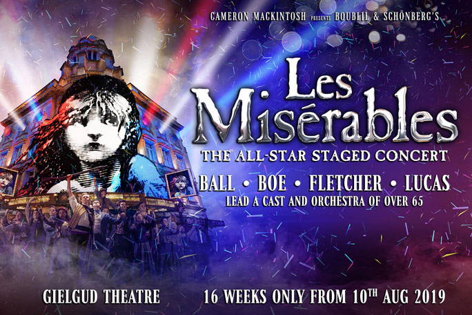 Les Miserables: The All-Star Staged Concert Header Image