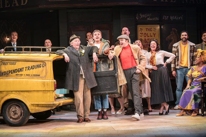 Only Fools and Horses - The Musical Header Image