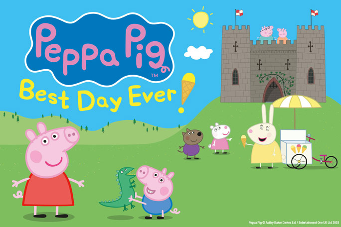 Peppa Pig's Best Day Ever Header Image