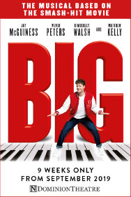 Big The Musical Rectangle Poster Image