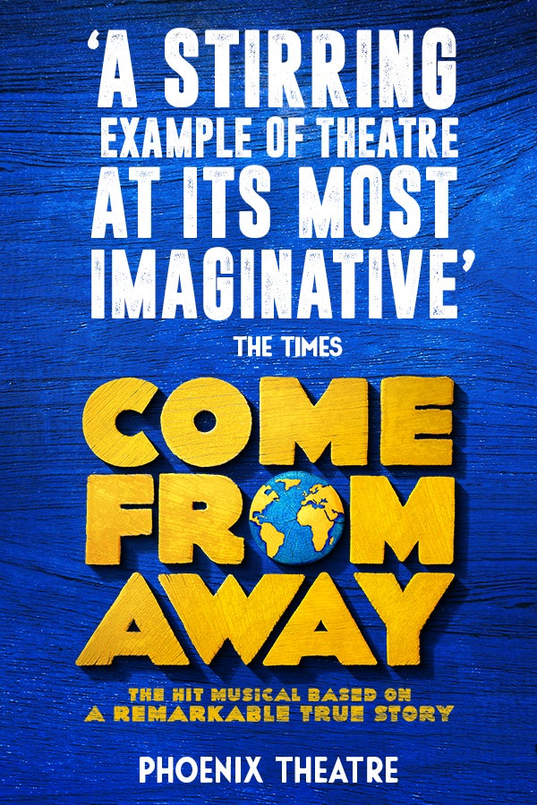 Come From Away Rectangle Poster Image