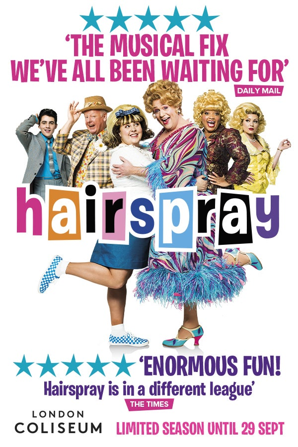Hairspray Rectangle Poster Image