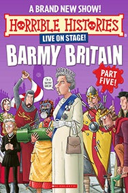 Horrible Histories - Barmy Britain - Part 5 Rectangle Poster Image