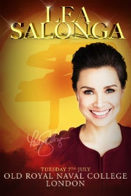 Lea Salonga - Greenwich Music Time Rectangle Poster Image