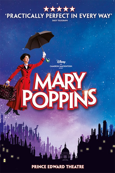 Mary Poppins Rectangle Poster Image