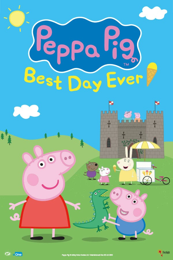 Peppa Pig's Best Day Ever Rectangle Poster Image