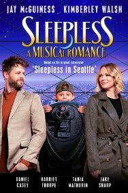 Sleepless: A Musical Romance Rectangle Poster Image