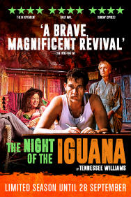 The Night of the Iguana Rectangle Poster Image