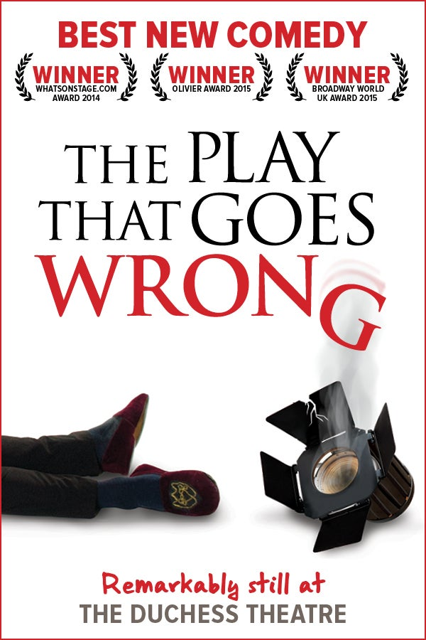 The Play That Goes Wrong Rectangle Poster Image