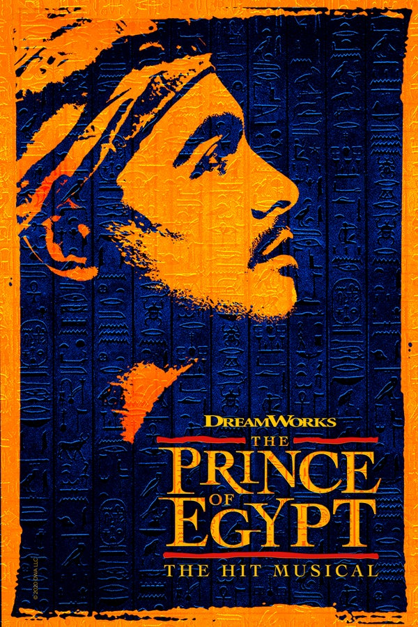 The Prince of Egypt Rectangle Poster Image