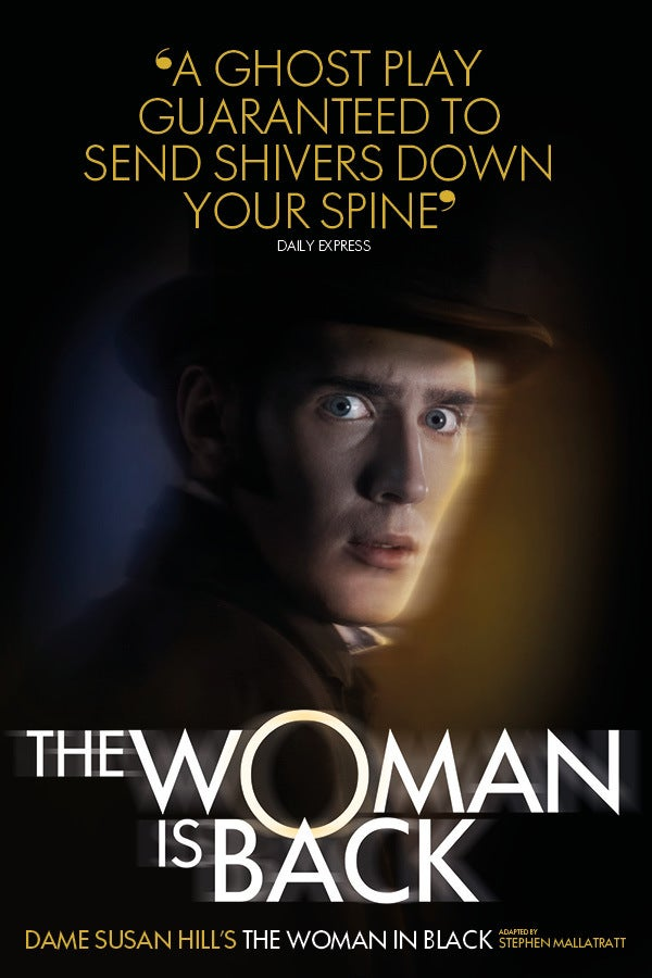 The Woman in Black Rectangle Poster Image
