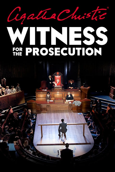 Witness for the Prosecution by Agatha Christie Rectangle Poster Image