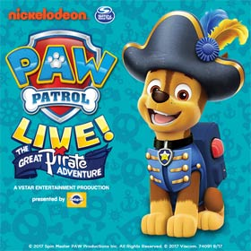 Paw Patrol Live! The Great Pirate Adventure: Manchester